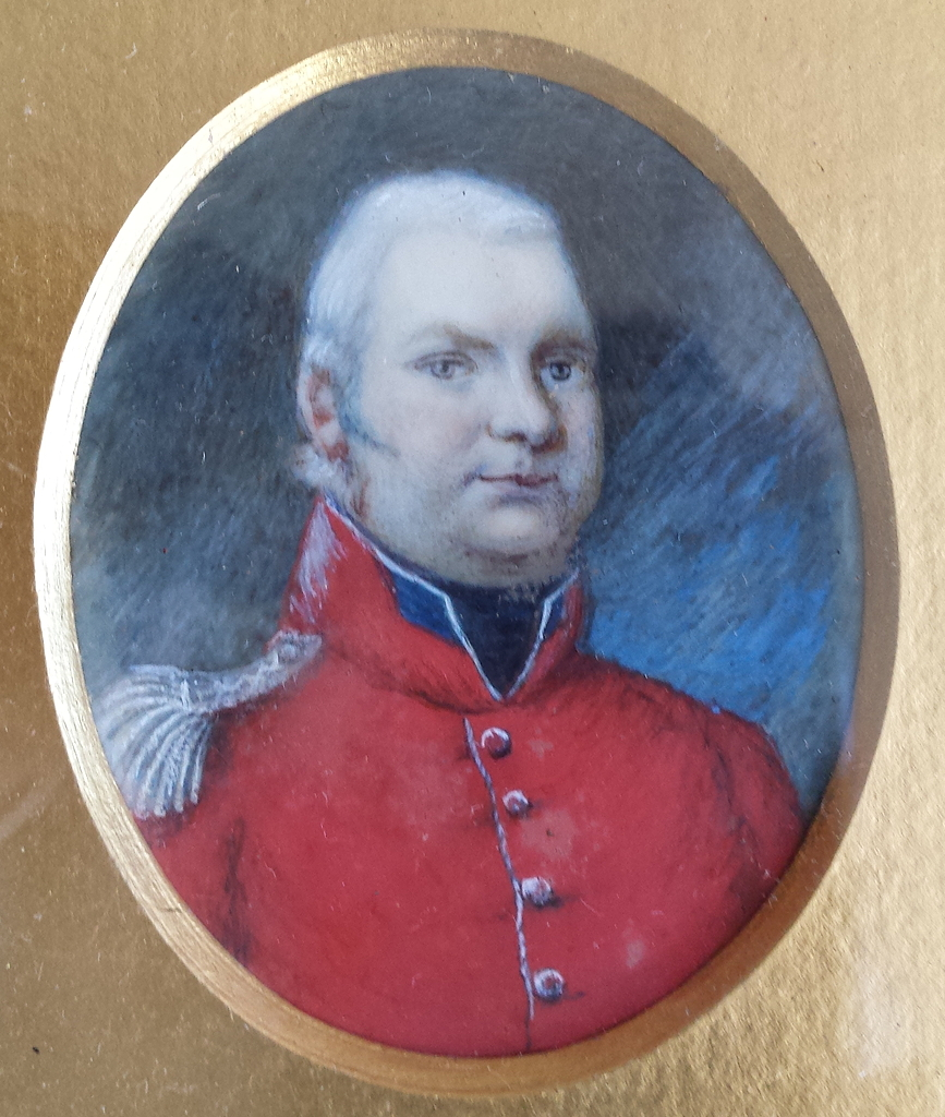 Daniel Page, Barrack-Master at Winchester Barracks